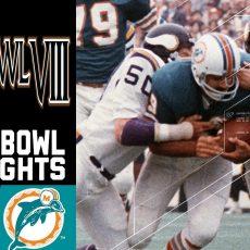 Super Bowl Viii Recap: Vikings Vs. Dolphins   Nfl for Miami Super Bowl Wins