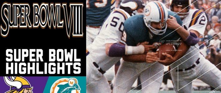 Super Bowl Viii Recap: Vikings Vs. Dolphins | Nfl for Miami Super Bowl Wins