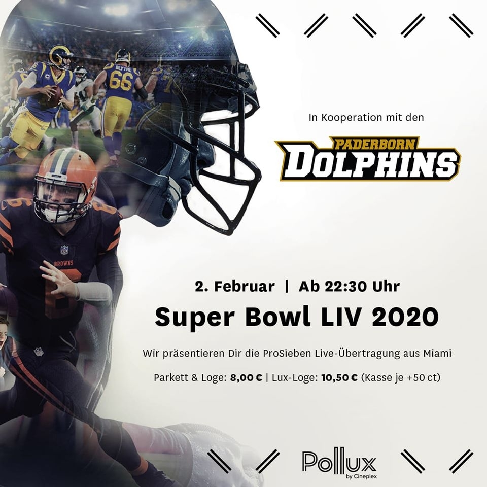Superbowl Party Mit Den Dolphins - Afc Paderborn Dolphins E.v. regarding Super Bowl 2019 Miami Dolphins