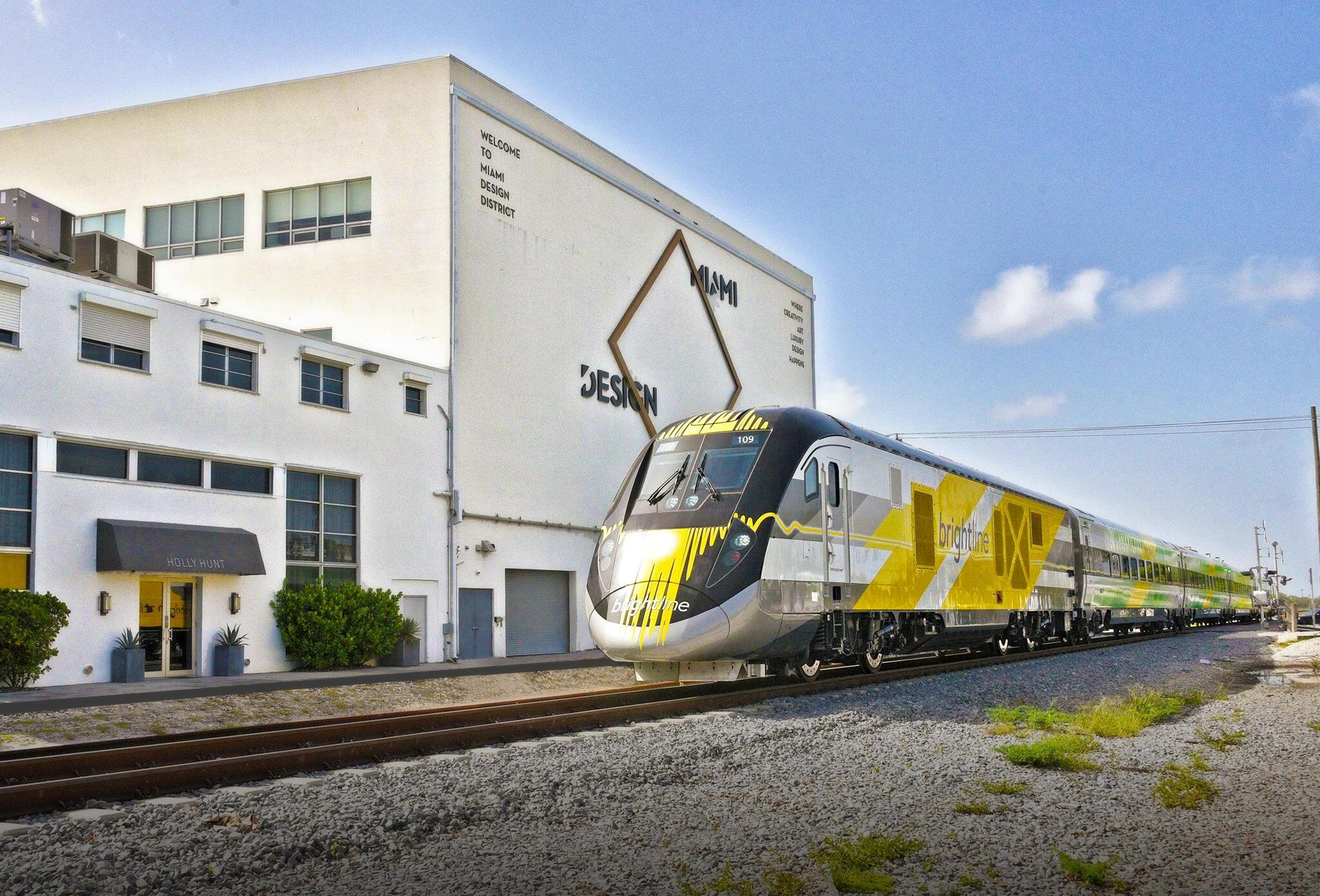 Testing Underway For Brightline Trains, But Passenger in Brightline Train Miami