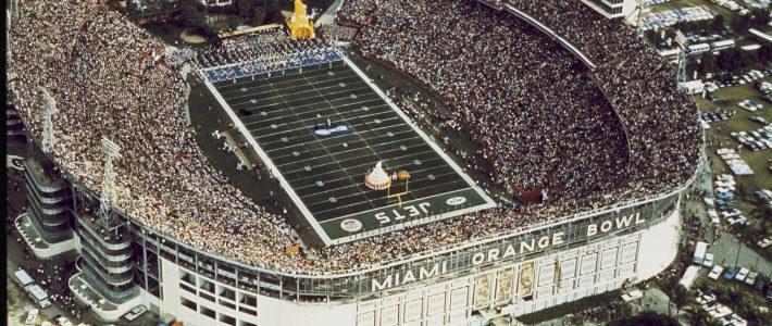 The Orange Bowl In Miami Florida During Super Bowl Iii   New intended for Super Bowl Miami Orange Bowl