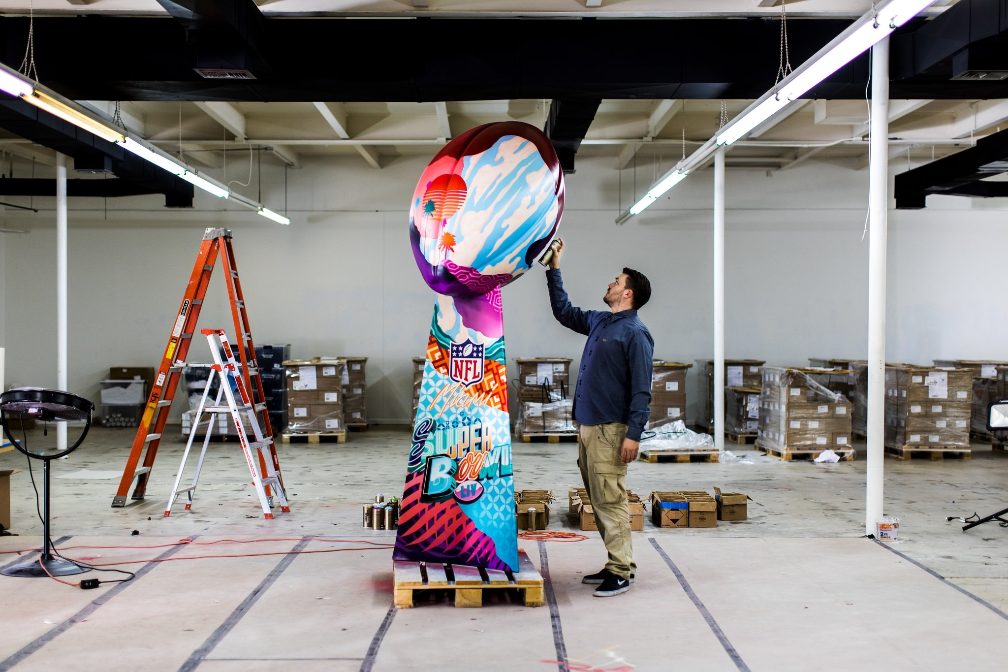 The Super Bowl Is The Biggest Art Show In Miami Right Now intended for Super Bowl Miami Years