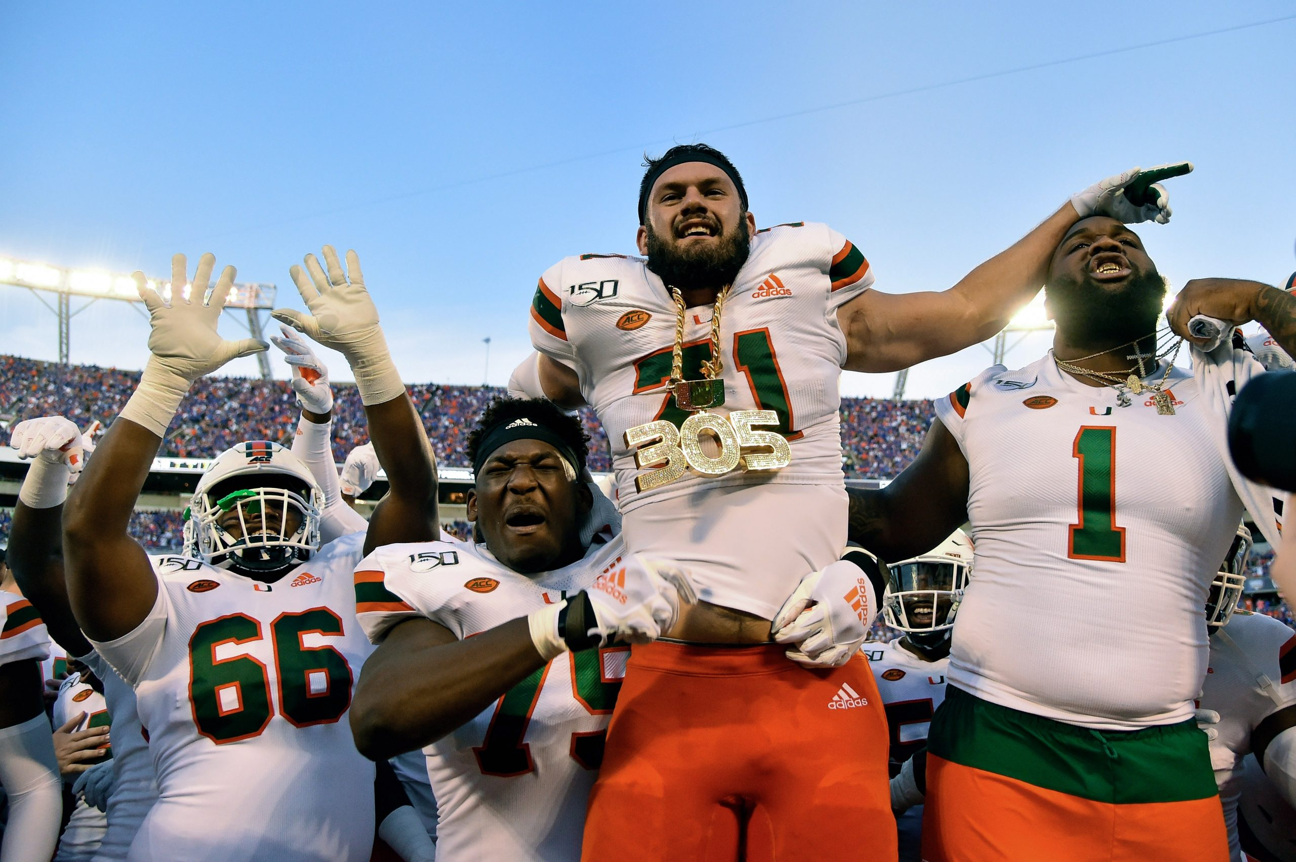 Watch: Miami Gets To Show Off 'touchdown Rings' After throughout Miami Hurricanes With Super Bowl Rings