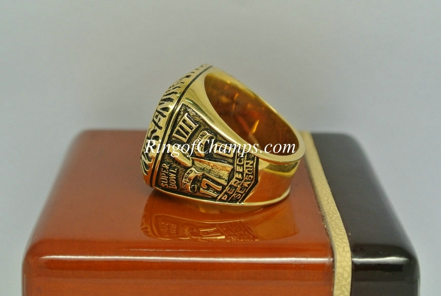 1972 Super Bowl Vii Miami Dolphins Championship Ring regarding Miami Super Bowl Volunteers