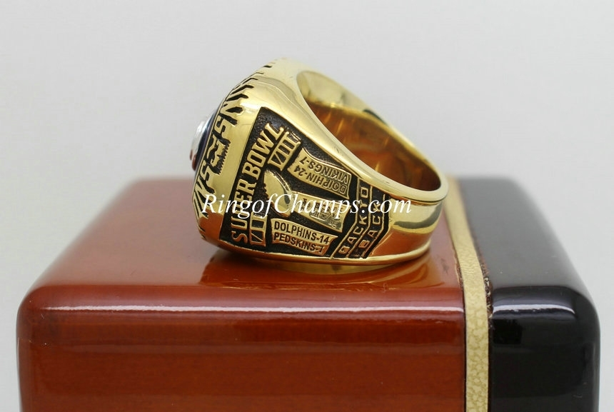 1973 Super Bowl Viii Miami Dolphins Championship Ring inside Miami Super Bowl Volunteers