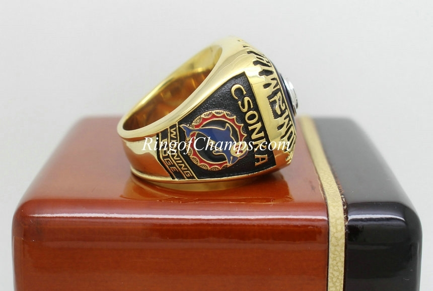 1973 Super Bowl Viii Miami Dolphins Championship Ring intended for Miami Super Bowl Volunteers