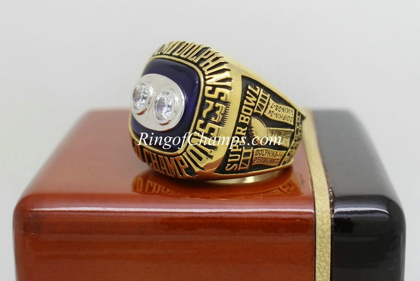 1973 Super Bowl Viii Miami Dolphins Championship Ring within Miami Super Bowl Volunteers