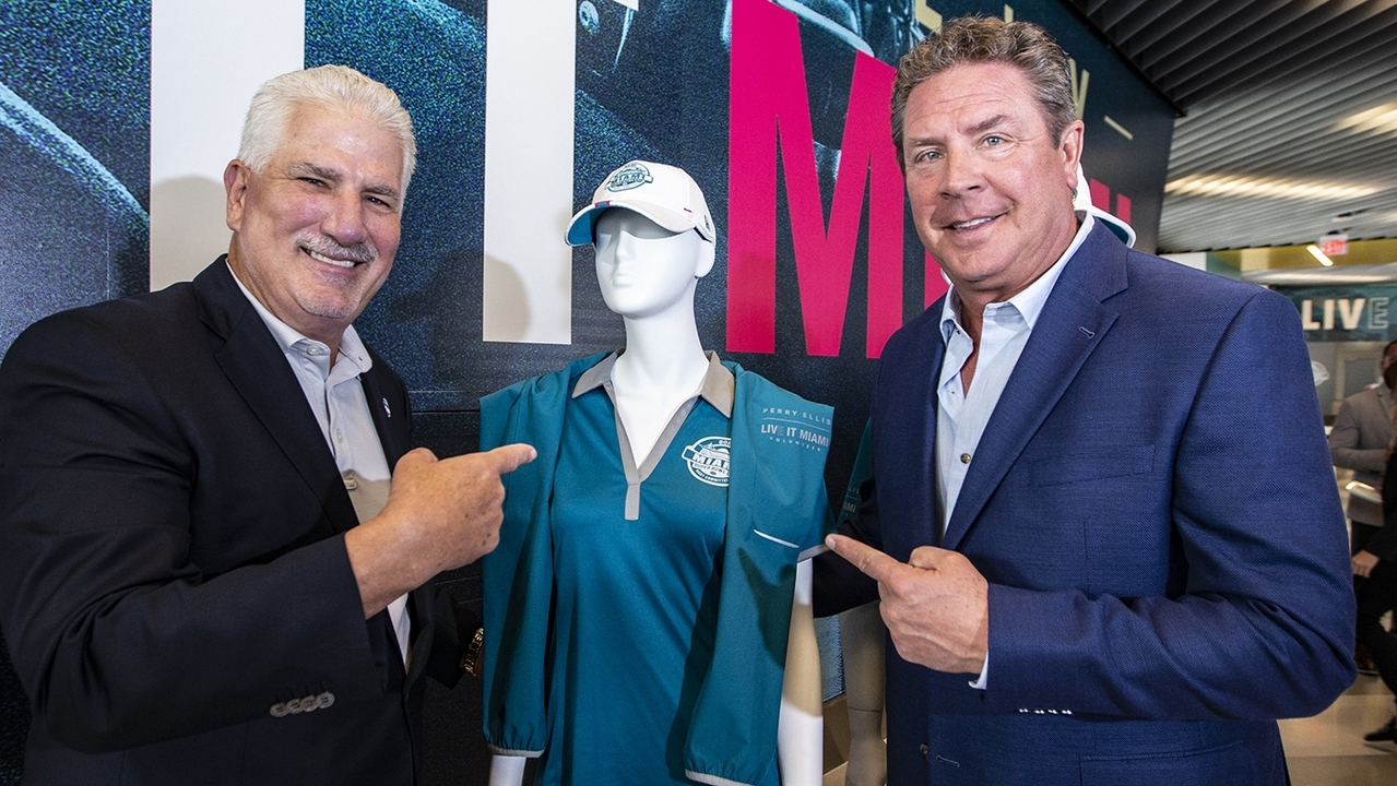 Miami Dolphins Legend And Super Bowl Liv Volunteer Captain within Miami Super Bowl Volunteers