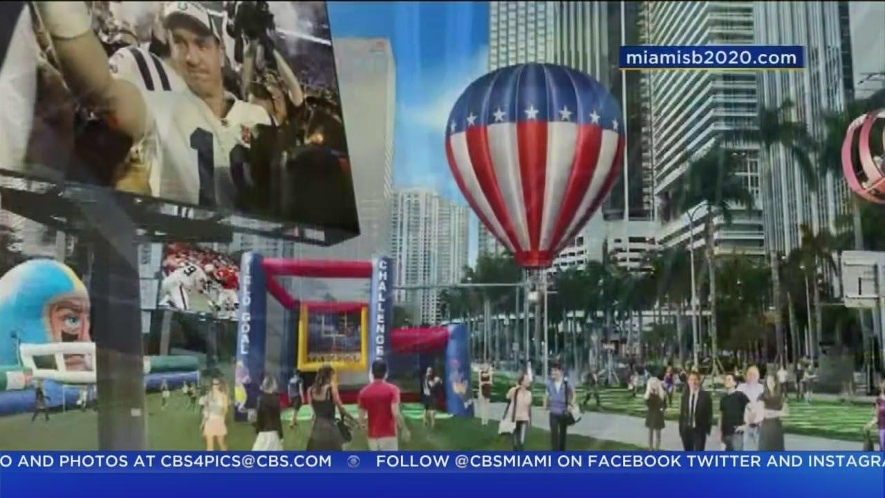 Miami To Host Super Bowl 54 In 2020 - Youtube for Miami Super Bowl Logo