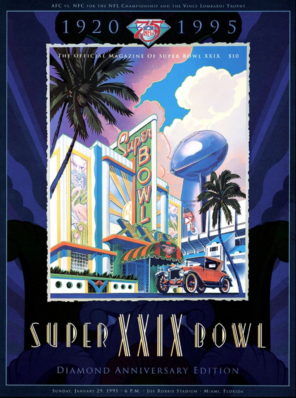 Packerville, U.s.a.: Super Bowl Game Programs • Part Iii within Miami Super Bowl Ticket Prices