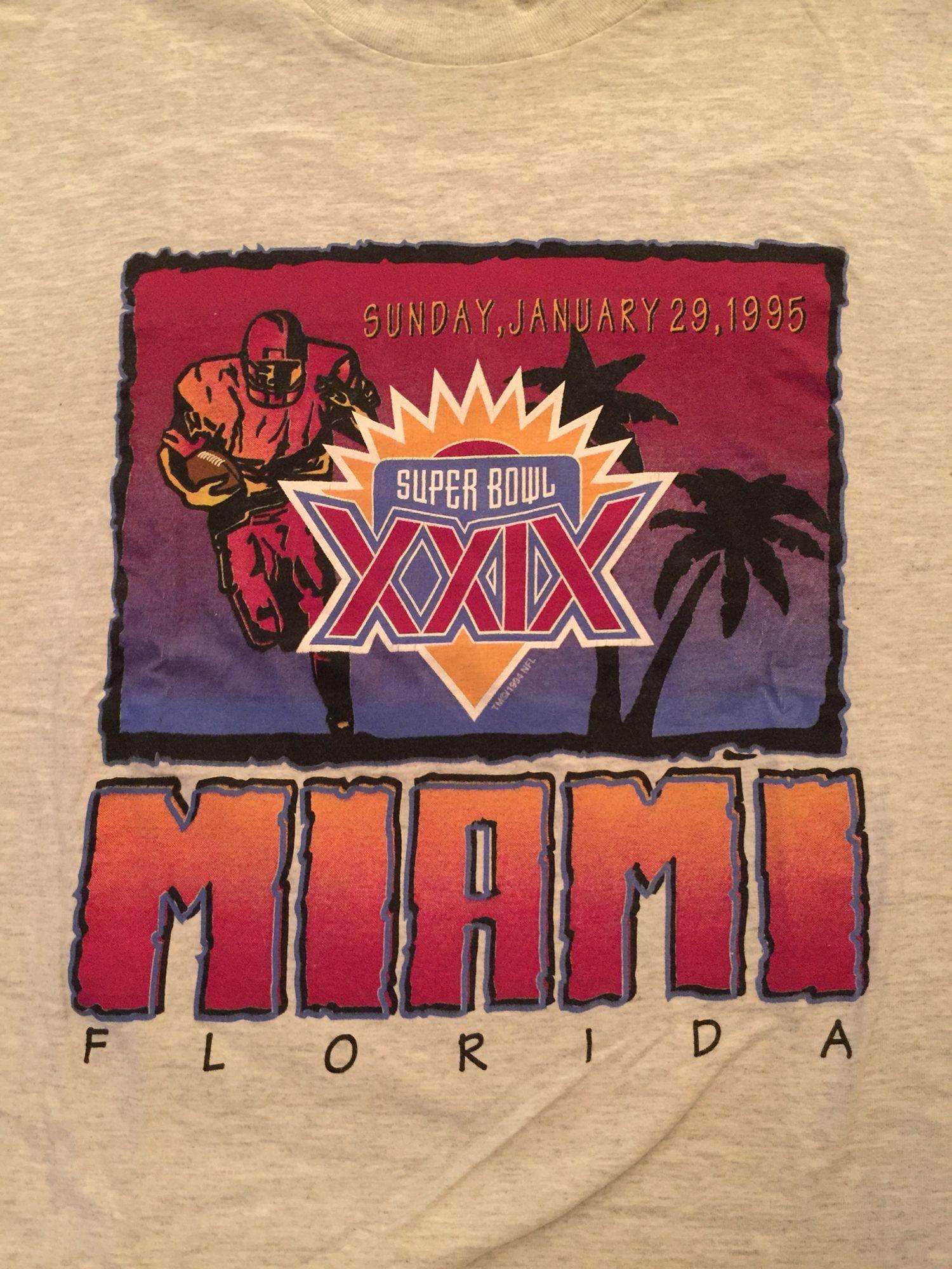 Super Bowl Xxix-Miami   Super Bowl, Special Events, Vintage with regard to Miami Super Bowl Activities