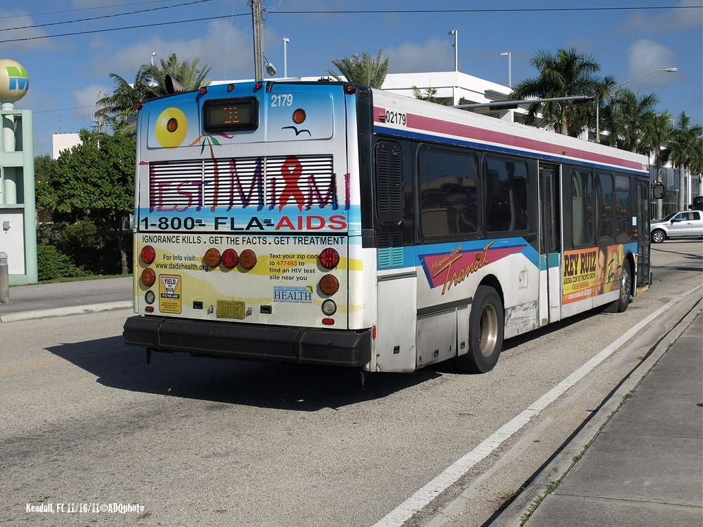 111116_02_Mdt2179   Miami-Dade Transit Bus 2179 On The inside Miami Trolley Bus Map
