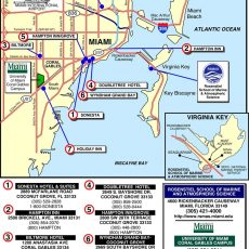 29 University Of Miami Map - Maps Online For You inside Miami Beach Beaches Map
