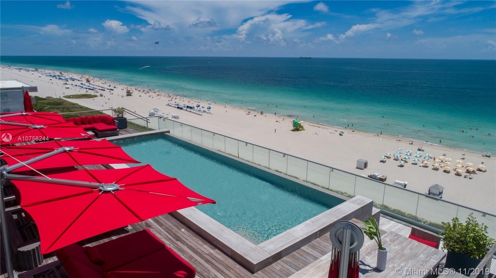 321 Ocean Drive Unit #Ph Condo For Sale In South Beach in Map Ocean Drive Miami