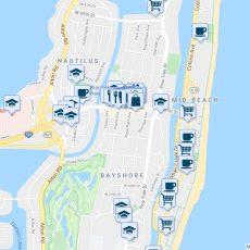 3750 Royal Palm Avenue, Miami Beach Fl - Walk Score inside Miami Beach Walking Map