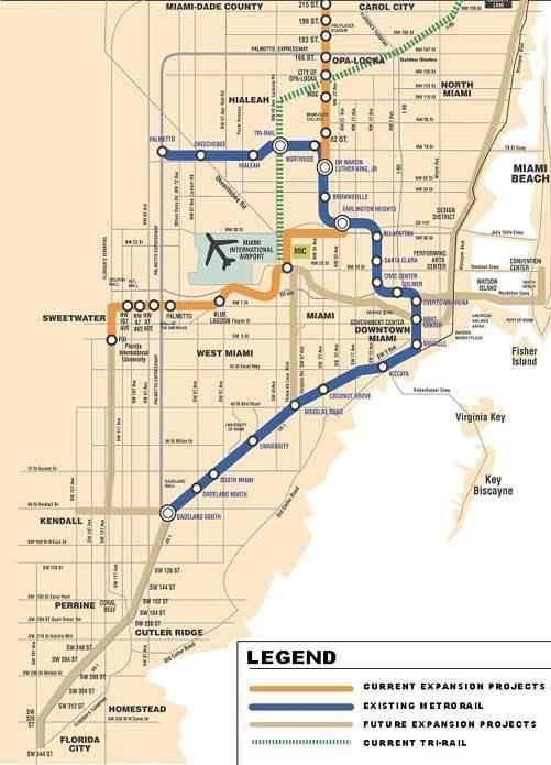 5 - Railway Technology inside Miami Trolley Brickell Map