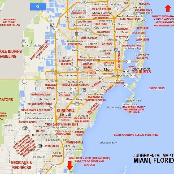 705 Best • 305.Hometown.mia • Images On Pinterest | Miami inside Miami Beach Zone 2 Map