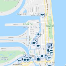 855 80Th Street, Miami Beach Fl - Walk Score pertaining to Miami Beach Public Parking Map