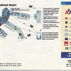 Airline Maps for Miami Airport Map By Airline