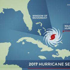 Alerta De Mapa De Huracán Irma - Descargar Vector in Mapa Satelital De Miami