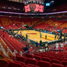 American Airlines Arena Section 103 Seat Views | Seatgeek regarding American Airlines Arena Miami Parking Map