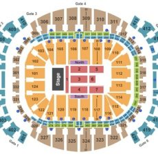 American Airlines Arena Tickets In Miami Florida, Seating throughout American Airlines Arena Seating Map