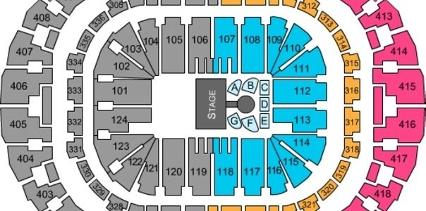 Americanairlines Arena Tickets In Miami Florida, Seating throughout American Airlines Arena Miami Seat Map