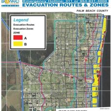 Are You In An Evacuation Zone? Here Is How To Know   Wgcu News in Miami Shores Zip Code Map