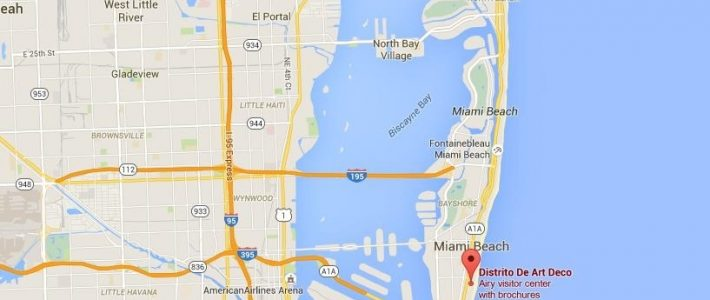 Art Deco District Miami Beach Map - Gallery Of Arts And Crafts in Miami Beach Florida Map