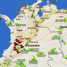 Arte, Cultura Y Turismo: Mapa Vial Actualizado Colombia with regard to Ubicacion De Miami En Mapa