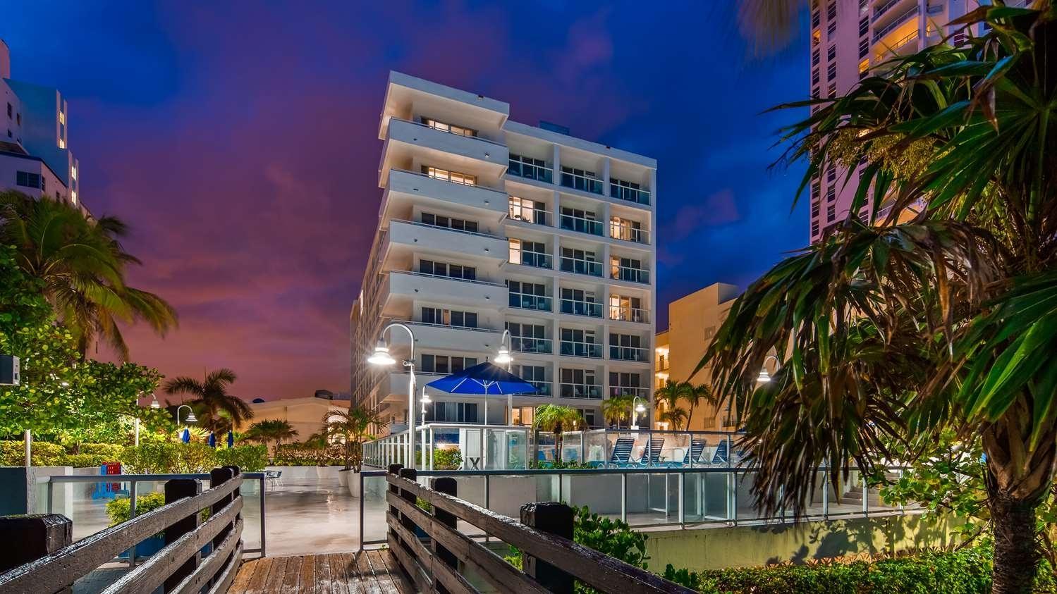 Best Western Plus Atlantic Beach Resort North Miami Beach throughout Mount Sinai Miami Beach Map