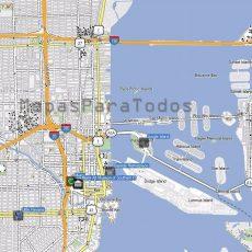 Blushempo: Mapa De Miami with Mapa Miami Orlando