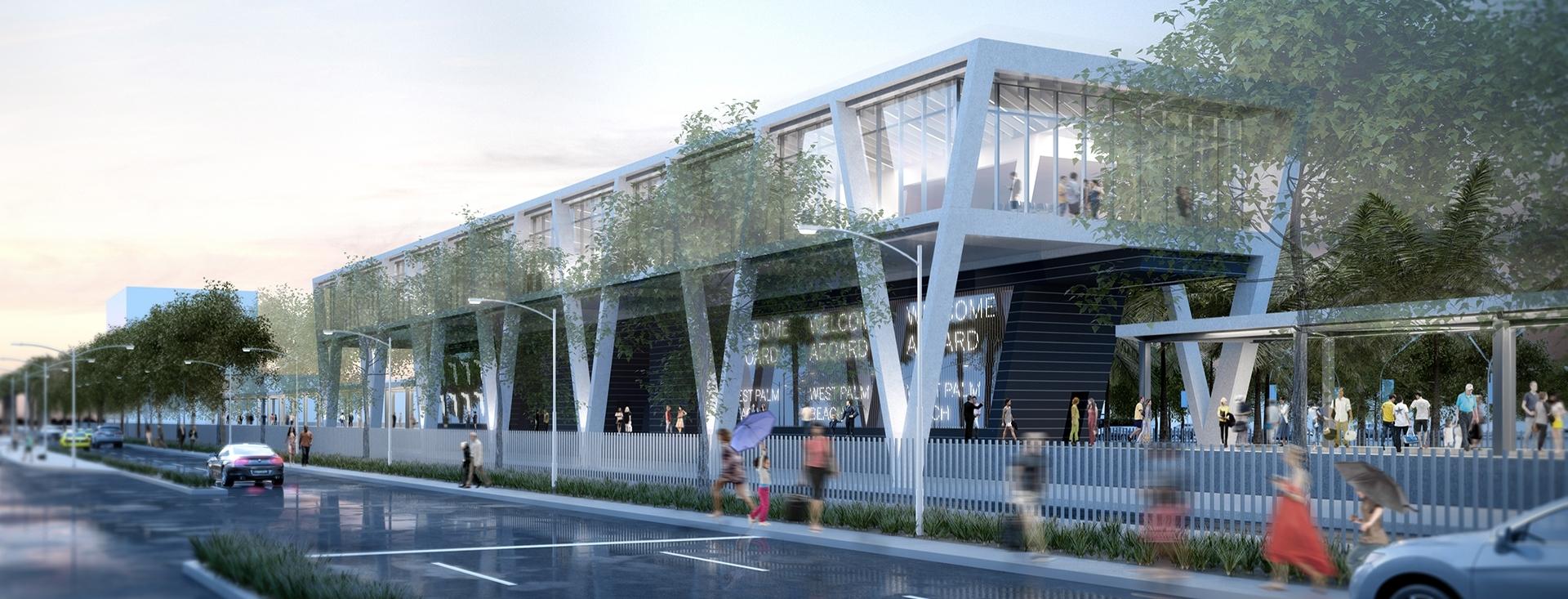 Brightline Stations - Moss Cm for Brightline Train Miami Location