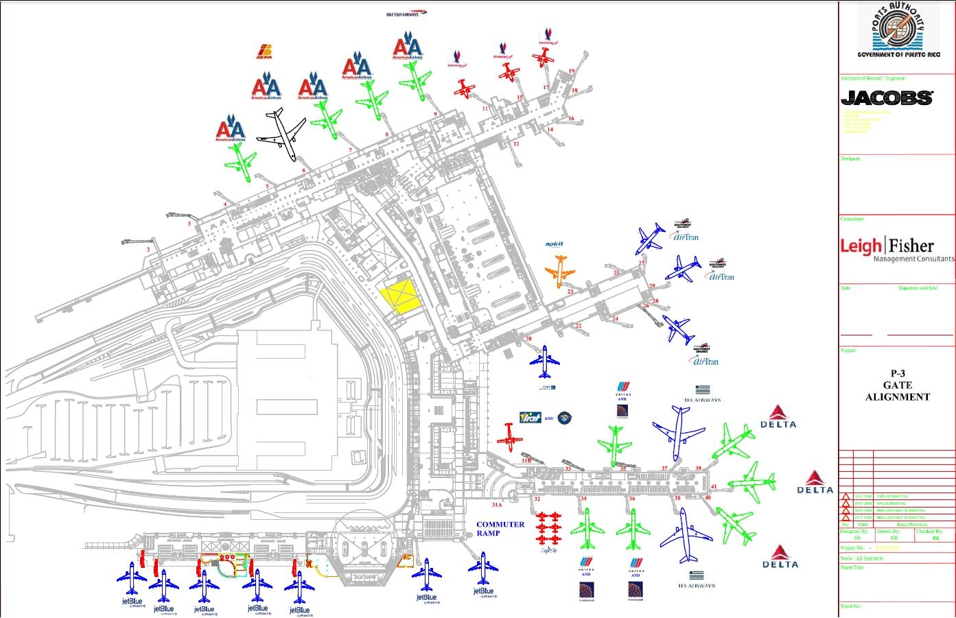 Carolina   Aeropuerto Internacional Luis Muñoz Marín   Sju in Mapa Aeropuerto Miami Florida