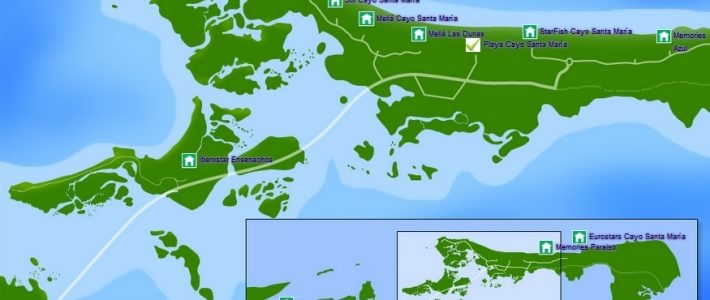 Cayo Santa María: ¿Se Agota La Mina De Oro? - Progreso Semanal pertaining to Miami Y Cuba Mapa