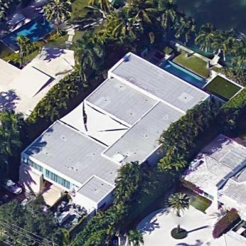 Chris Bosh'S House In Miami Beach, Fl (Google Maps) with Google Maps South Beach Miami