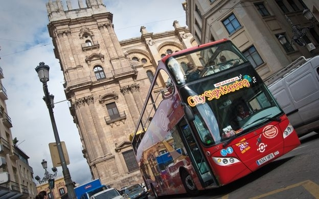 City Sightseeing Malaga: Hop-On, Hop-Off Bus Tour intended for Miami Hop On Hop Off Bus Route Map
