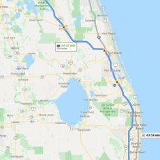 Como Llegar Hasta Orlando - Todo Sobre Disney within Mapa Miami Orlando Auto