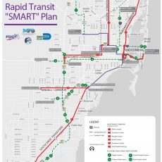 County Preparing To Spend $3.6B On Rapid Transit - The with regard to Miami Dade County Bus Map