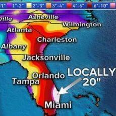 Dangerous Winds, Storm Surge Threaten Florida Even As in Miami Dangerous Areas Map