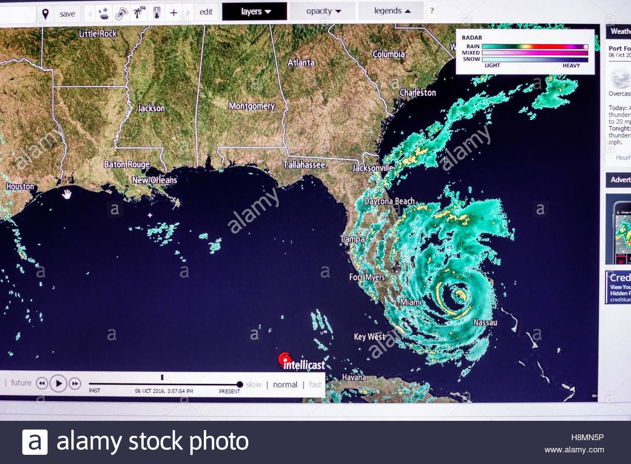 Doppler Radar Weather Map Of The Entire Contiguous United with regard to Miami Florida Weather Map