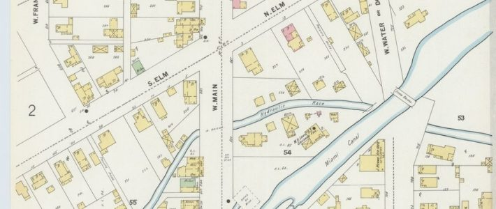 File:sanborn Fire Insurance Map From Troy, Miami County for Miami County Ohio Map