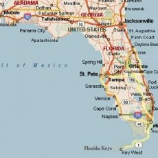 Florida with regard to Florida Map Miami To Key West
