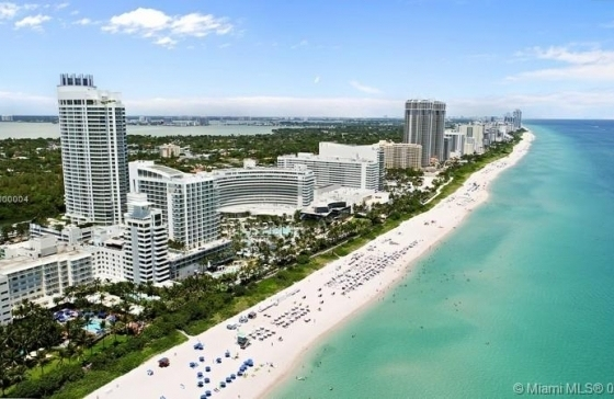 Fontainbleau Sorrento Condo For Sale, 4391 Collins Ave inside Miami Beach Airbnb Map