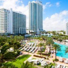 Fontainebleau Resort Miami Beach, Miami, Fl, United States with Fontainebleau Miami Beach Resort Map