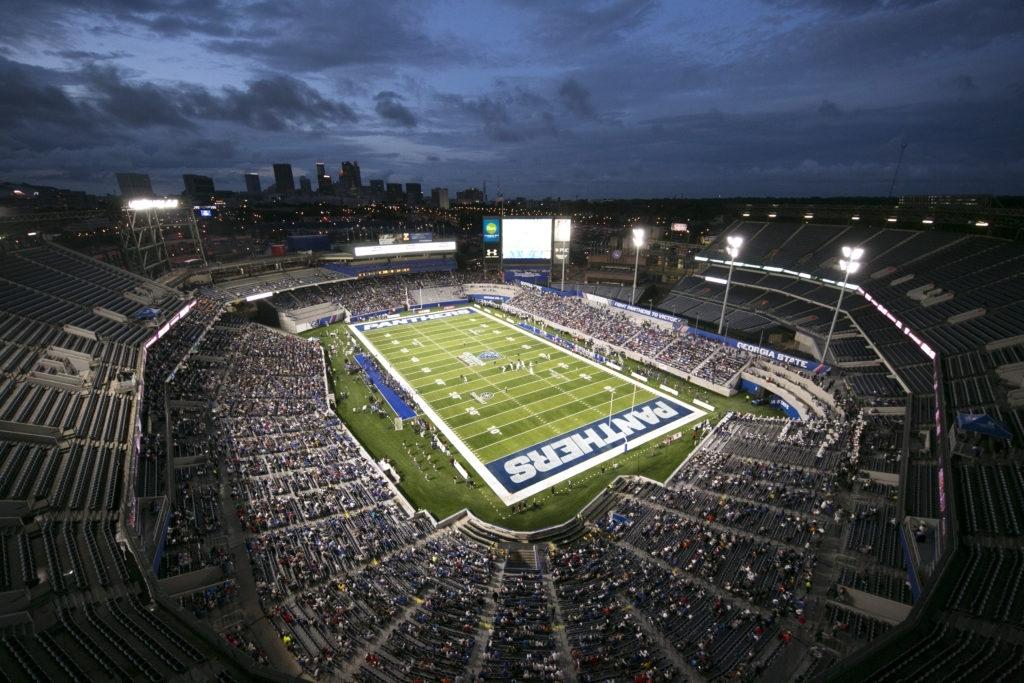 Georgia State Stadium, And The Growth Of Football Program within Miami University Baseball Stadium Address