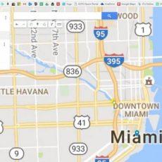 Google Maps Miami Carnival Tutorial - Youtube - Google Map with Google Maps Miami Florida