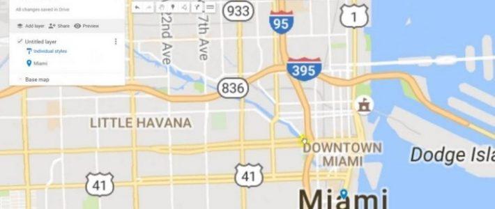 Google Maps Miami Carnival Tutorial - Youtube - Google Map with Miami Beach Map Google