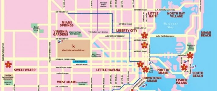 Guide Miami Beach .. pertaining to City Of North Miami Beach Map
