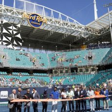 Hard Rock Stadium A Big Hit With Tennis Stars • The throughout Hard Rock Stadium Miami Gardens Fl